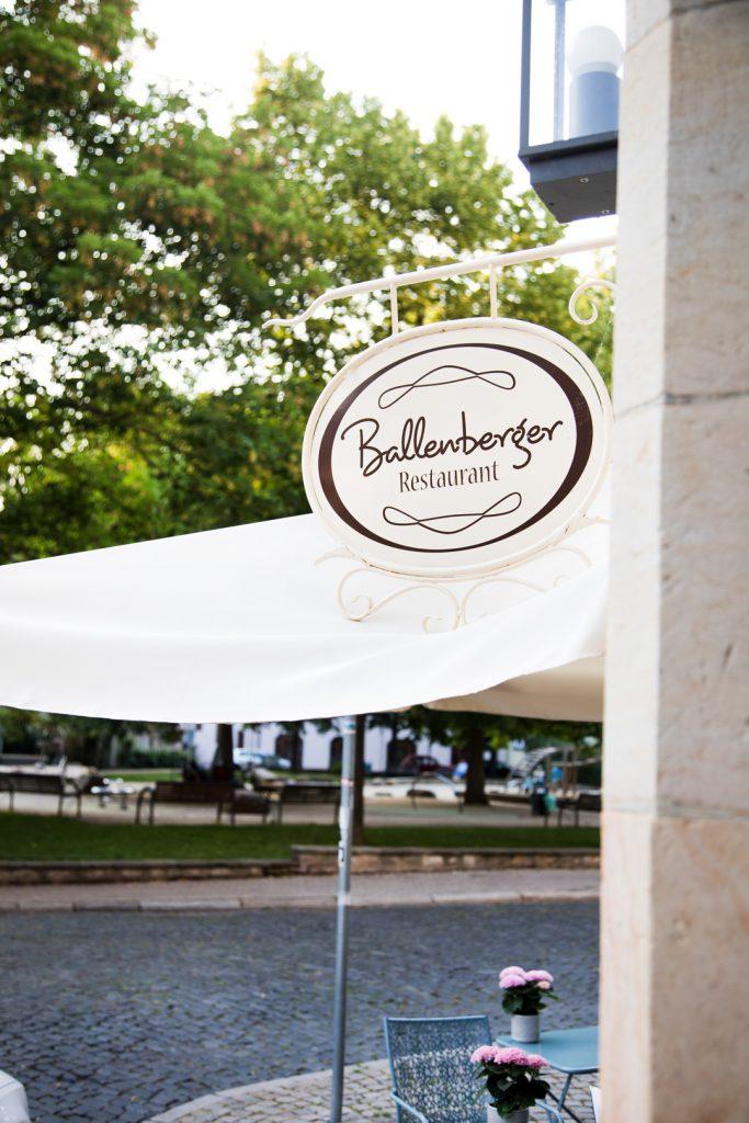 Restaurant Ballenberger Thüringen Erfurt Krämerbrücke