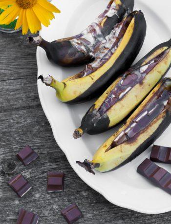 Dessert vom Grill: Schoko-Bananen vom Grill