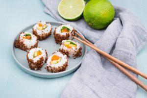 Sushi selber machen - süßes Sushi