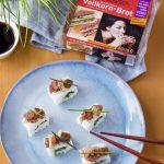Sushi selber machen mit Vollkorn-Brot von Mestemacher