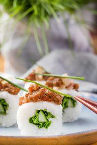 Sushi selber machen - Sushi mit Pumpernickel