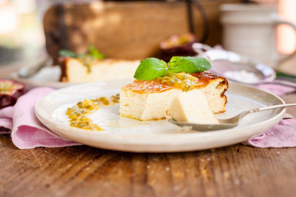 Käsekuchen ohne Boden Low Carb