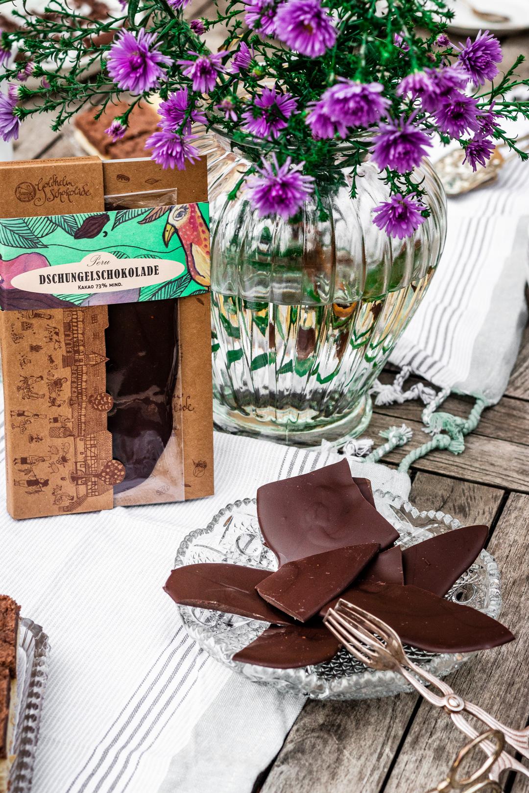 Dschungelschokolade