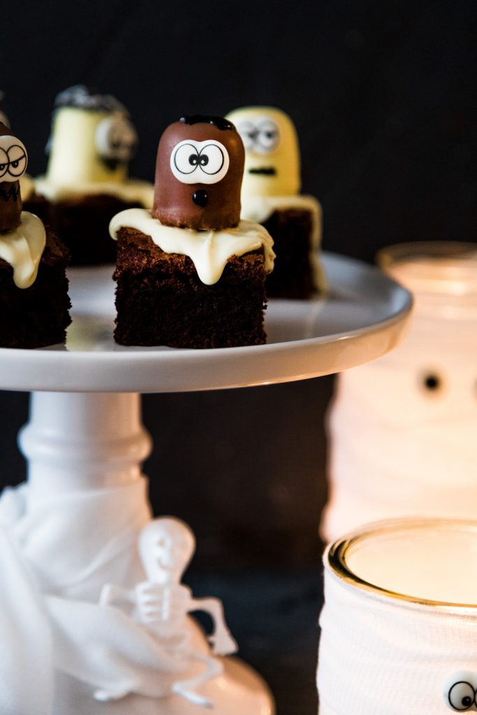 Brownie-Geister zu Halloween