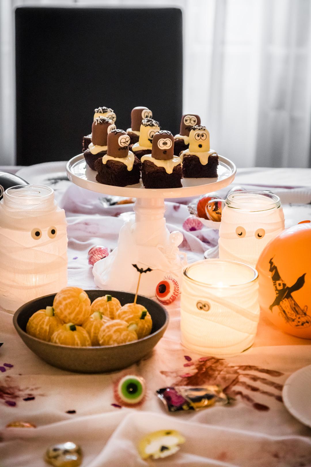 Halloween Rezepte Brownie Geister Und Weitere Blitzschnelle