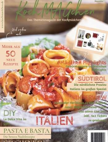 KochMAGchen Italien mit italienischen Rezepten