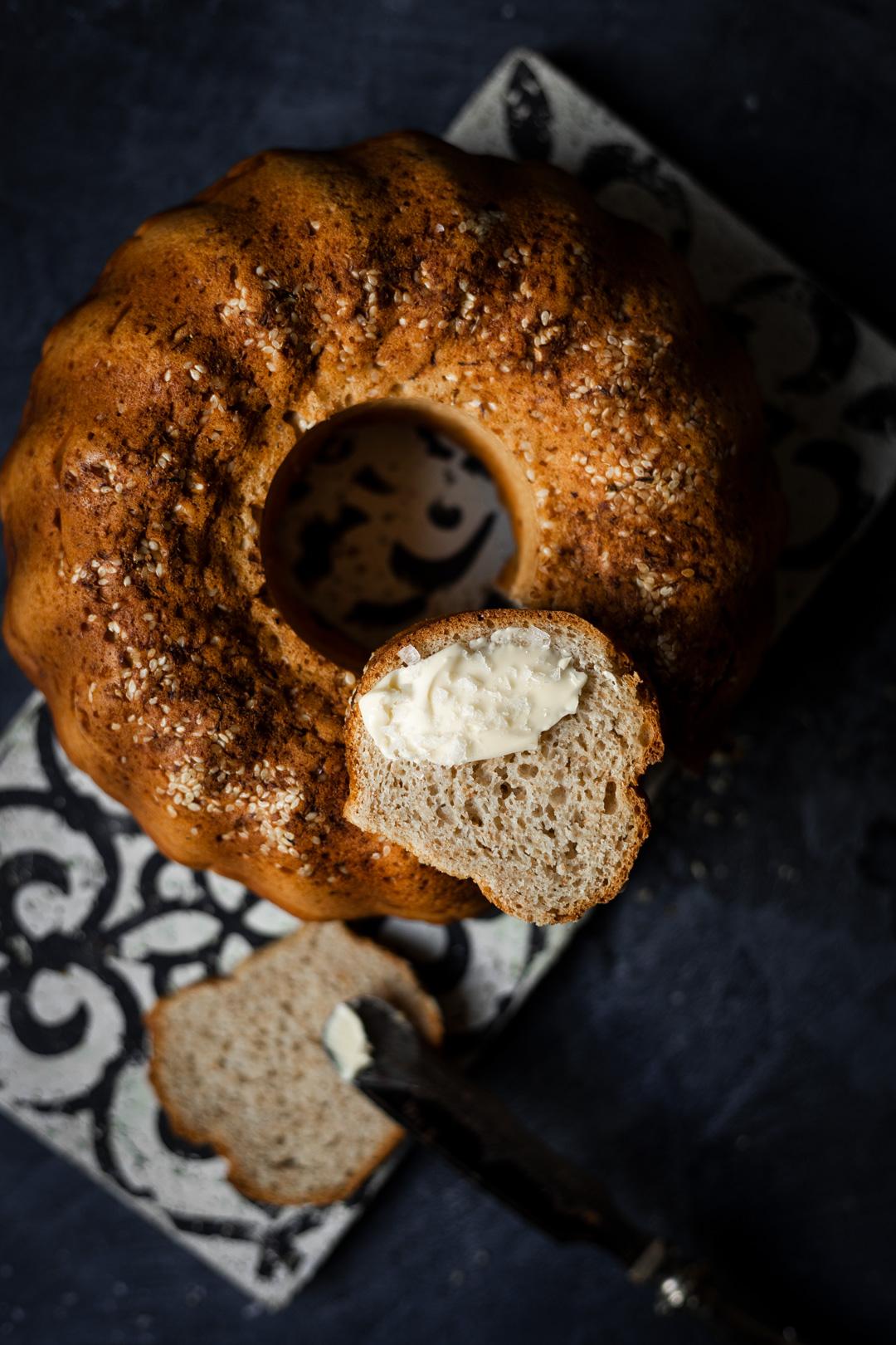 Brot-Rezept: Blitzschneller Brotgugelhupf - Kochmädchen Foodblog