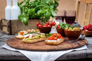Antipasti selber machen: Bruschetta-Rezepte-italienisch