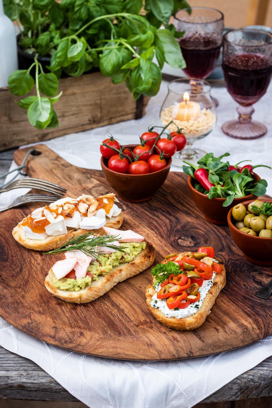 Italienische Rezepte: Antipasti selber machen mit Italienischem Bio Landbrot und Italienischen Bio Wraps von Mestemacher
