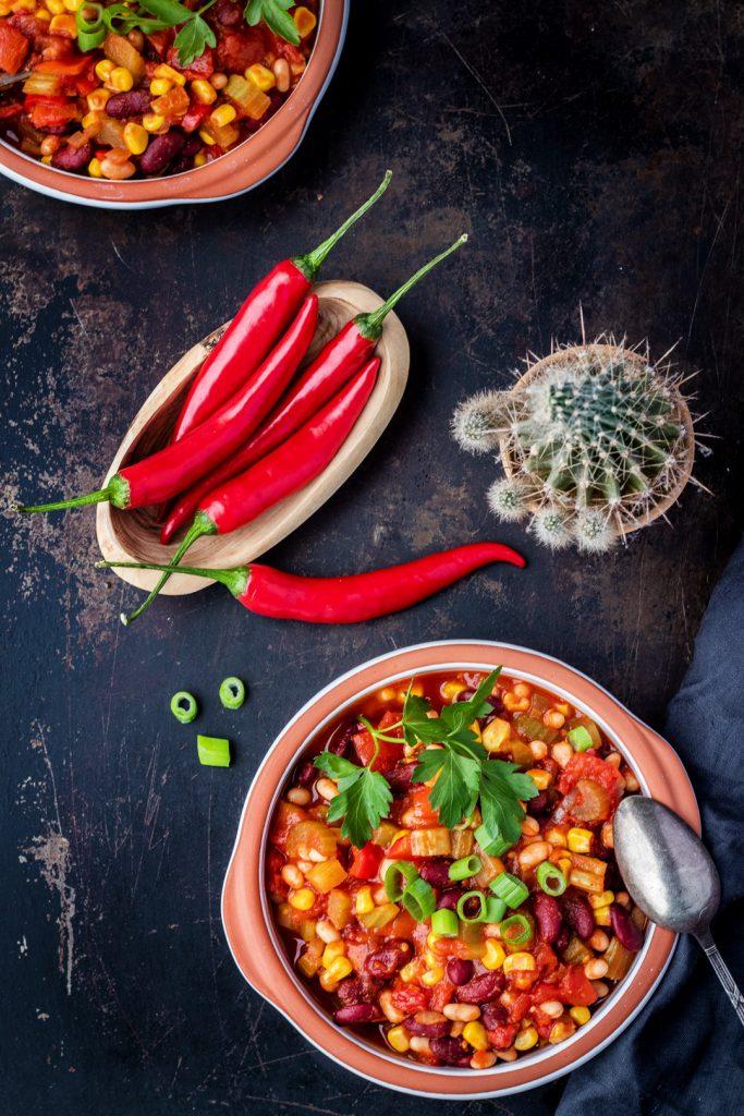 Chili-sin-Carne-vegetarisch