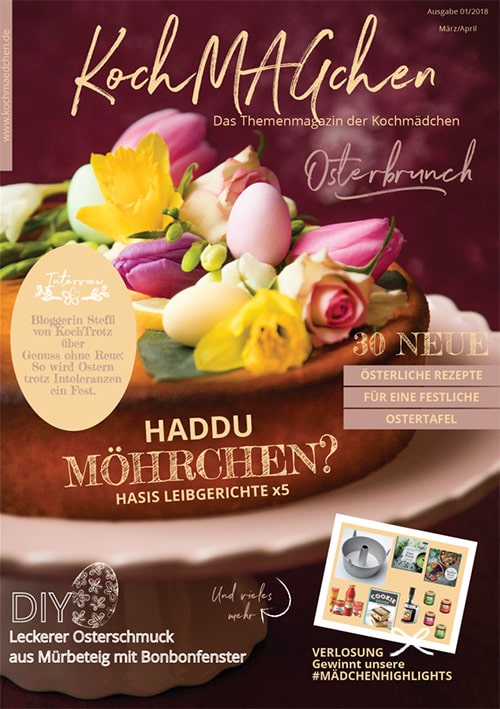 KochMAGchen Osterbrunch - Das Themenmagazin der Kochmädchen