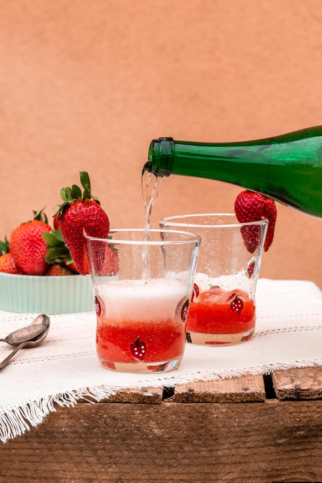 Erdbeerlimes selbstgemacht