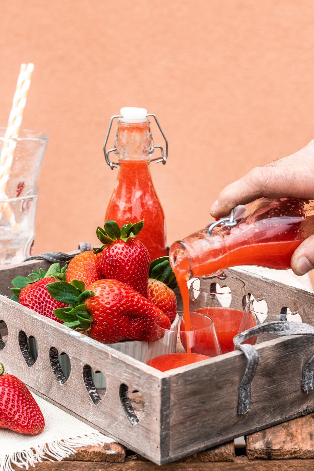 Erdbeer-Limes-Rezept