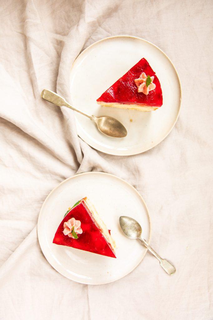 Erdbeere-Torte-Tortenguss
