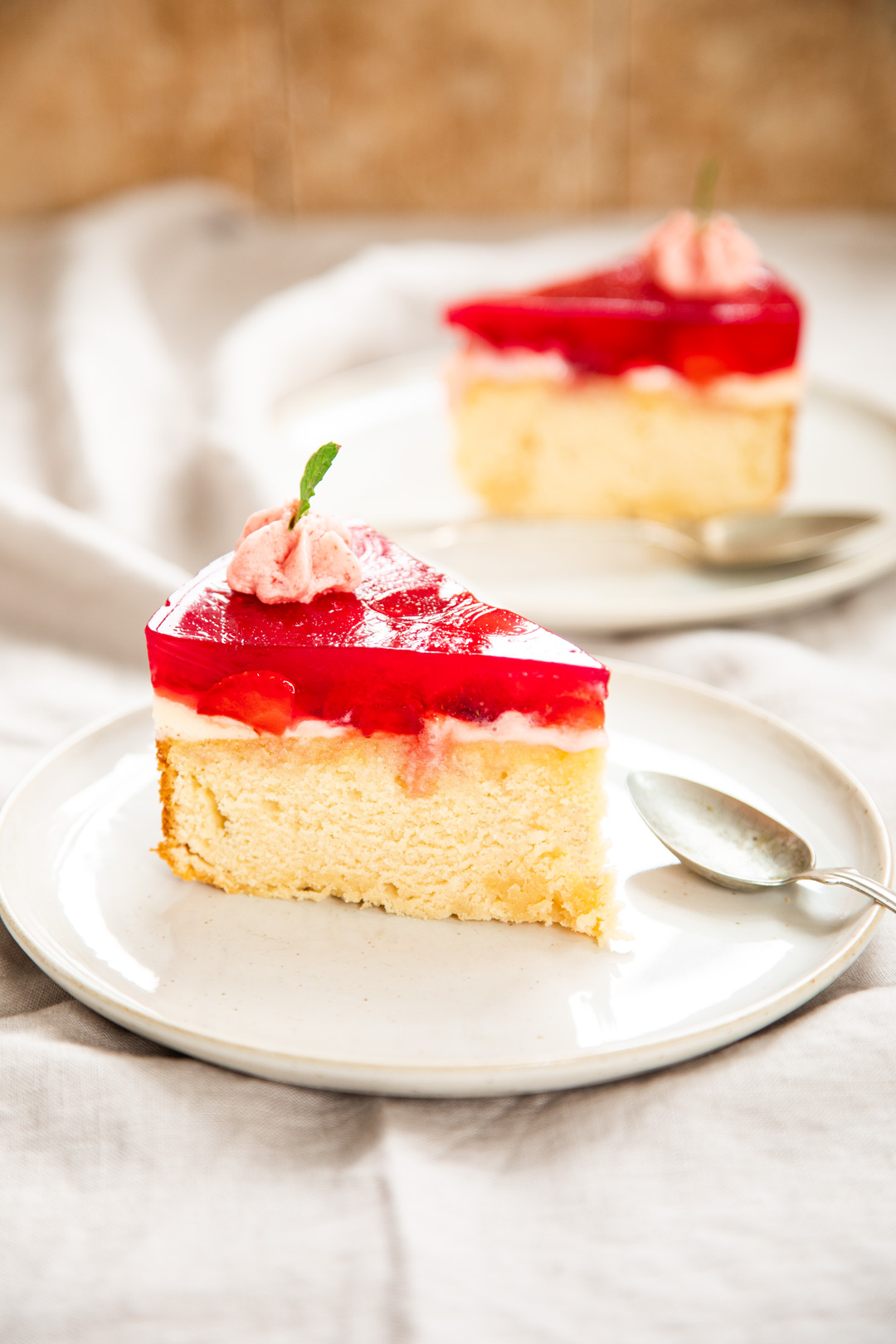 Torte-Erdbeeren-Ricotta