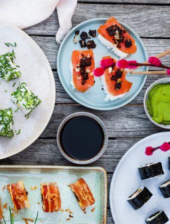 Sushi Rezepte mit Pumpernickel