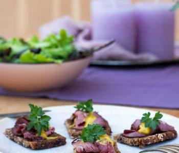 Brotzeit-Rezepte mit Trauben Nuss Brotr von Mestemacher