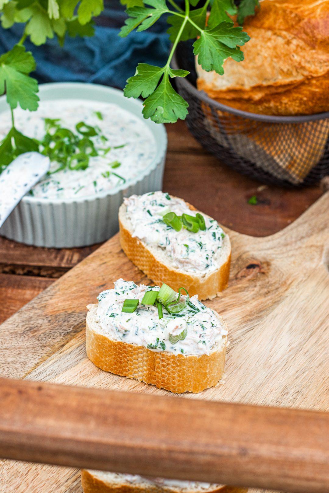 Thunfisch-Dip-Frischkäse