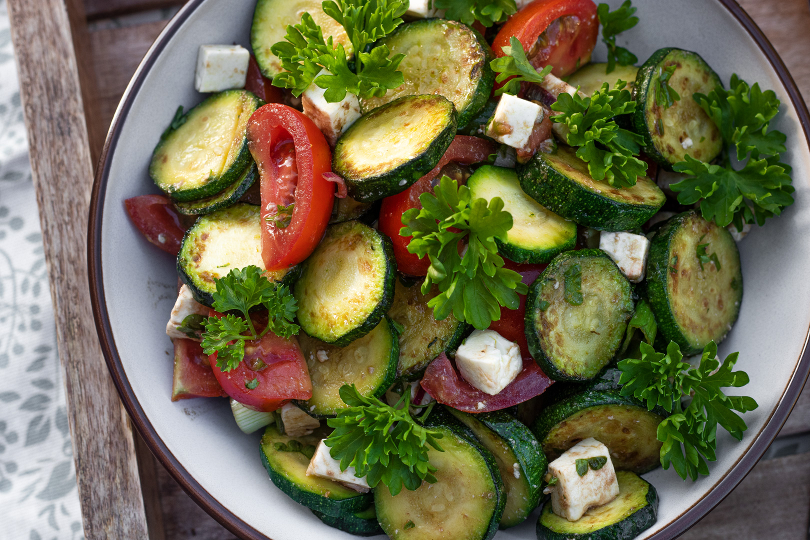 Zucchini-Rezept-Zucchinisalat