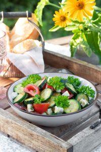 Zucchini-Salat