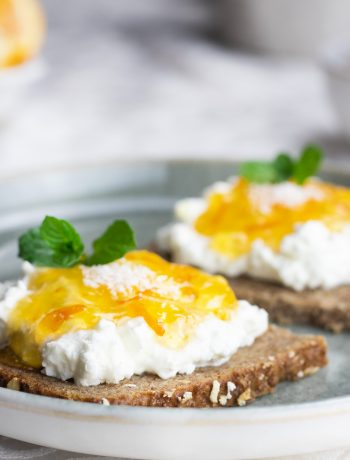 Fitnessbrot-Kokosquark, gesunde Brote, Rezepte