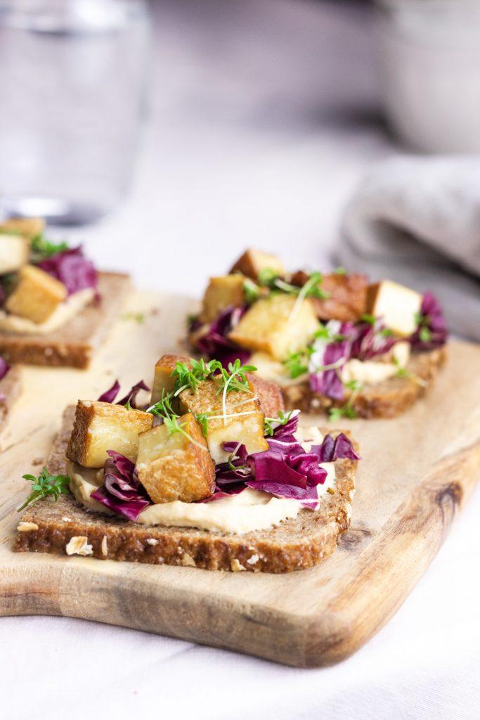 gesunde Brote Rezepte Fitnessbrot-Tofu