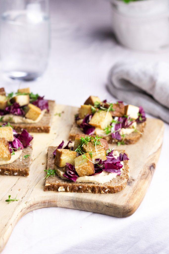 Fitnessbrot-Tofu, gesunde Brote