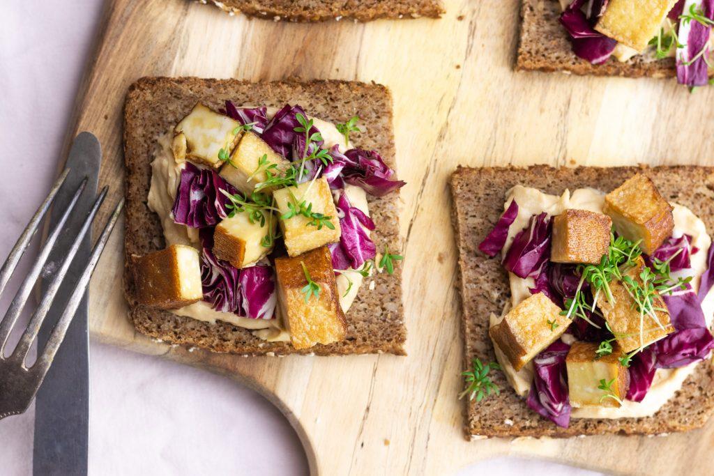 Gesunde Brote; Fitnessbrot-Tofu