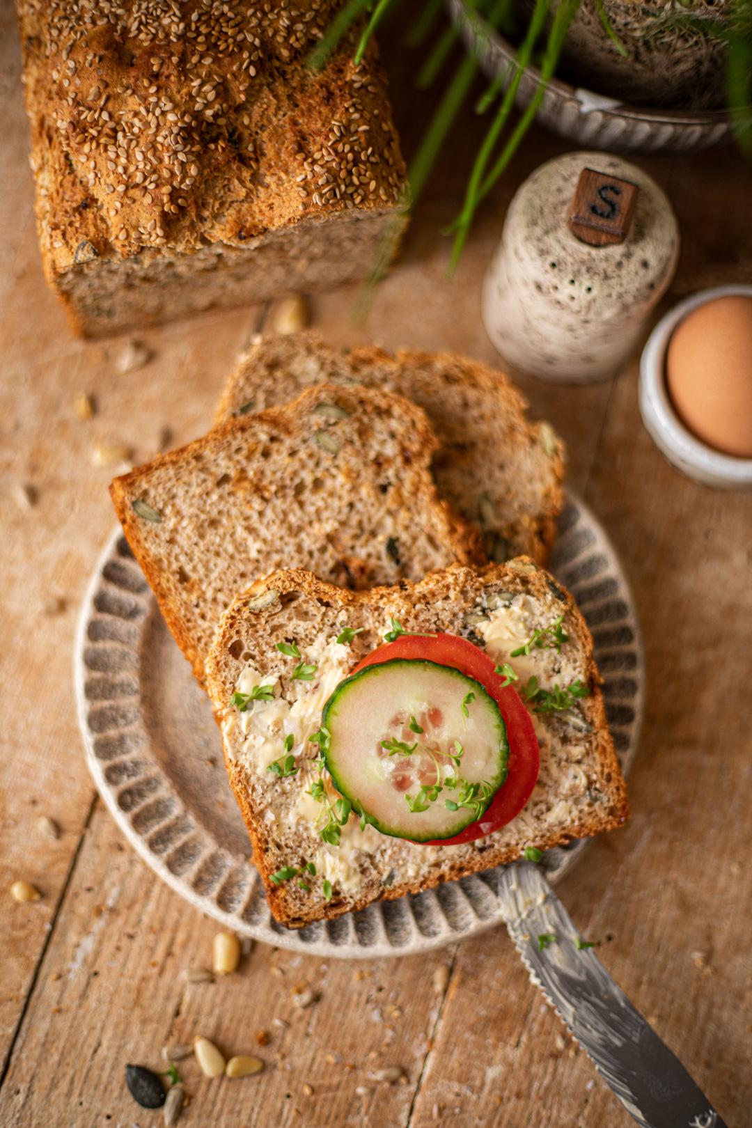 5-Minuten-Brot ohne Gehen und Kneten