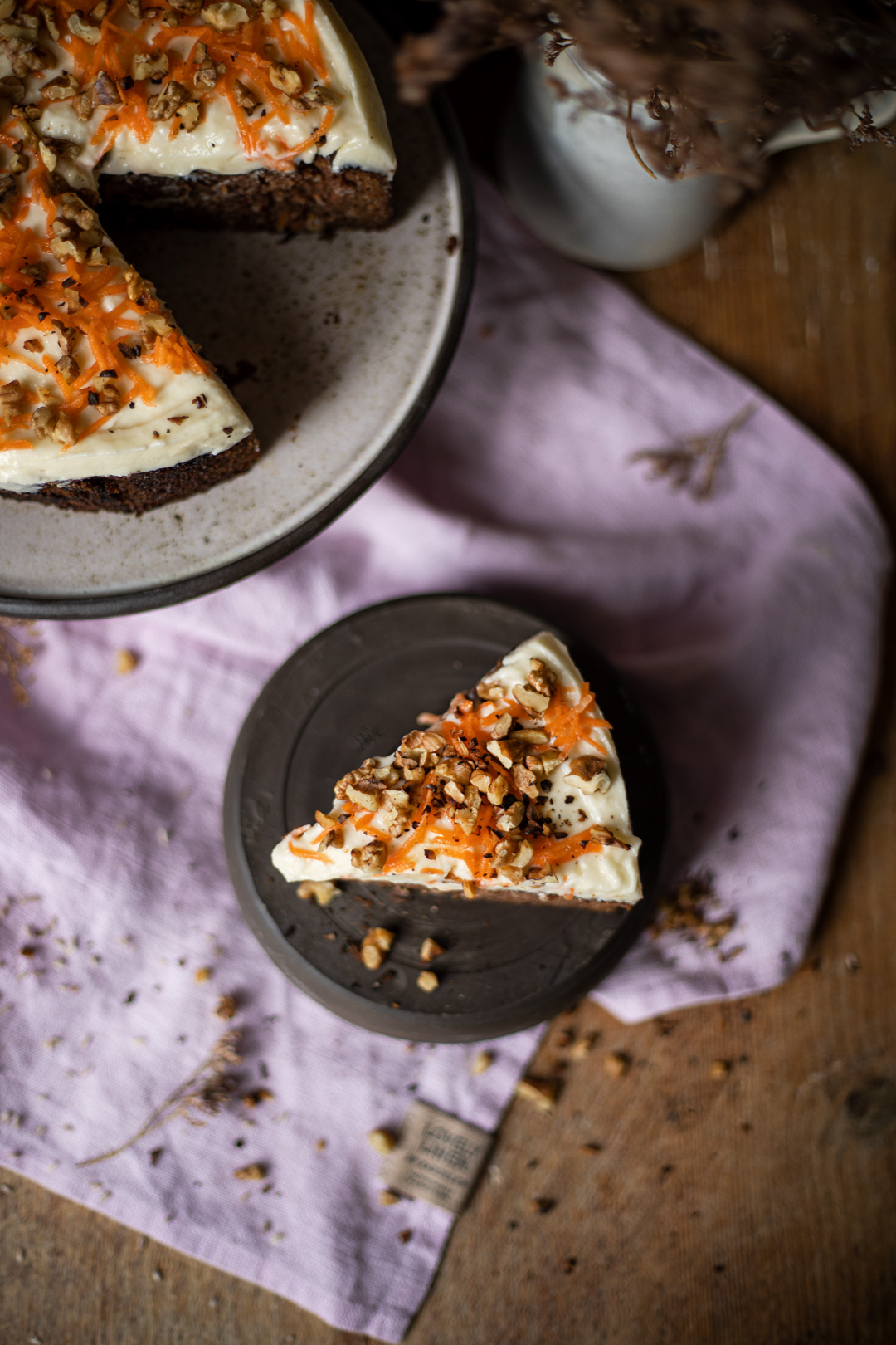 Low Carb Möhren Kuchen