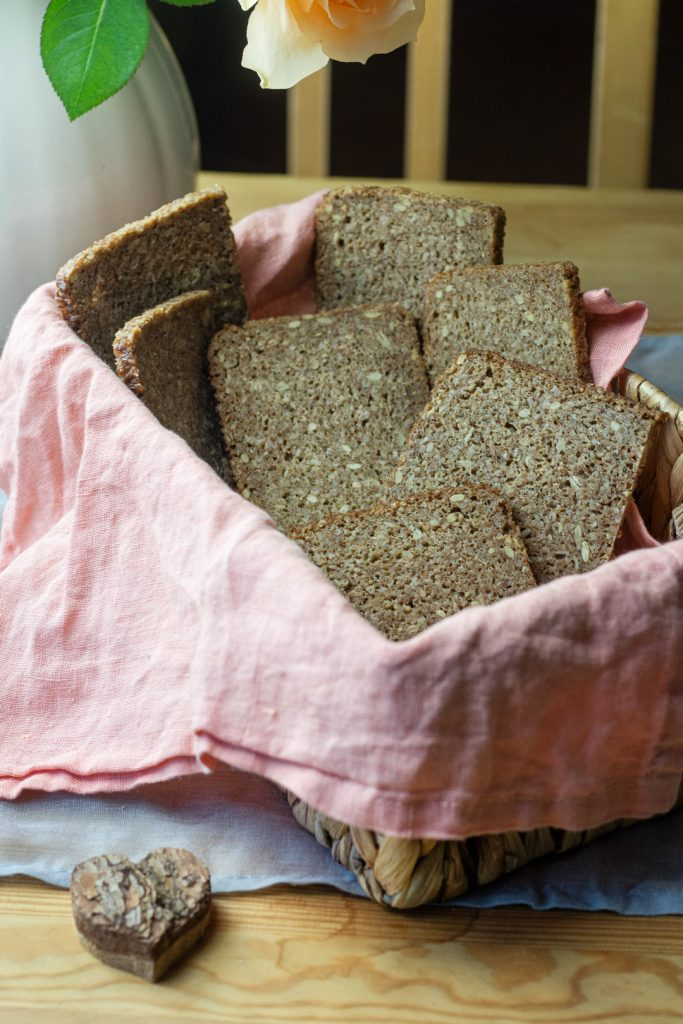 Brotkorb-Sonnenkern Brot von Mestemacher