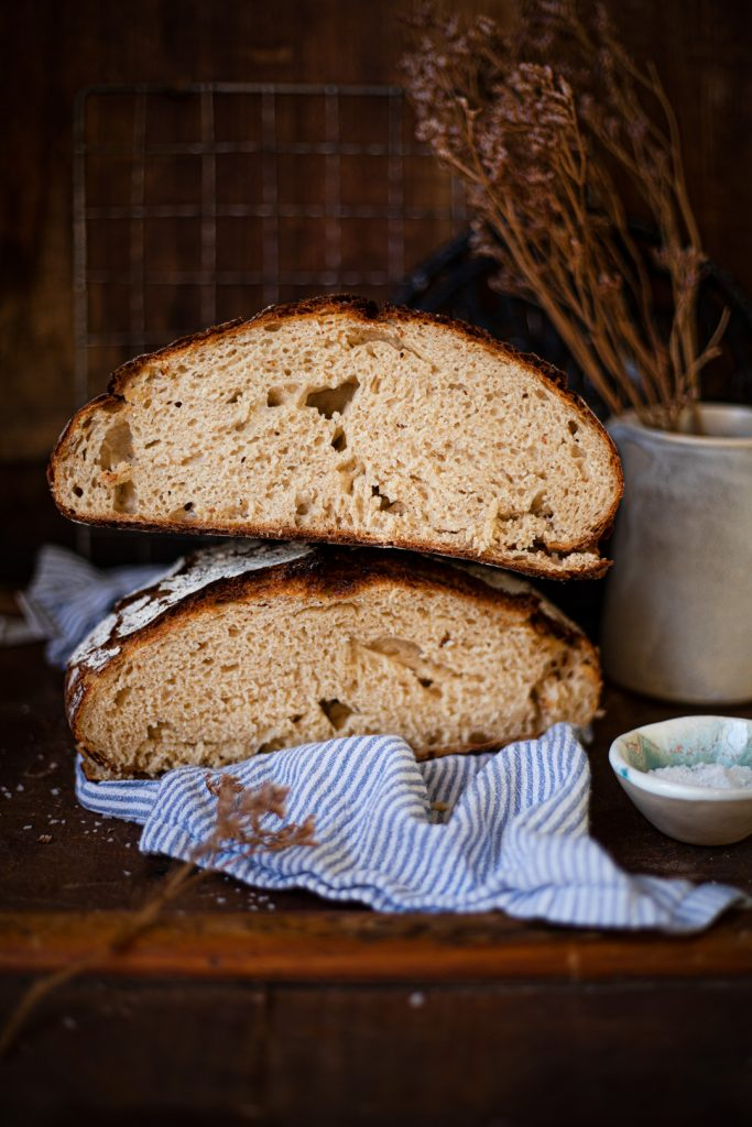Rezept für Brot aus dem Topf ohne Gehenlassen und Abwiegen