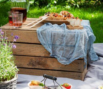 Picknick-Ideen mit California Wraps von Mestemacher