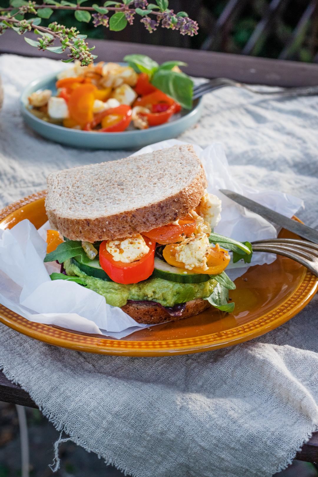 Sandwich-mit-Gemuese