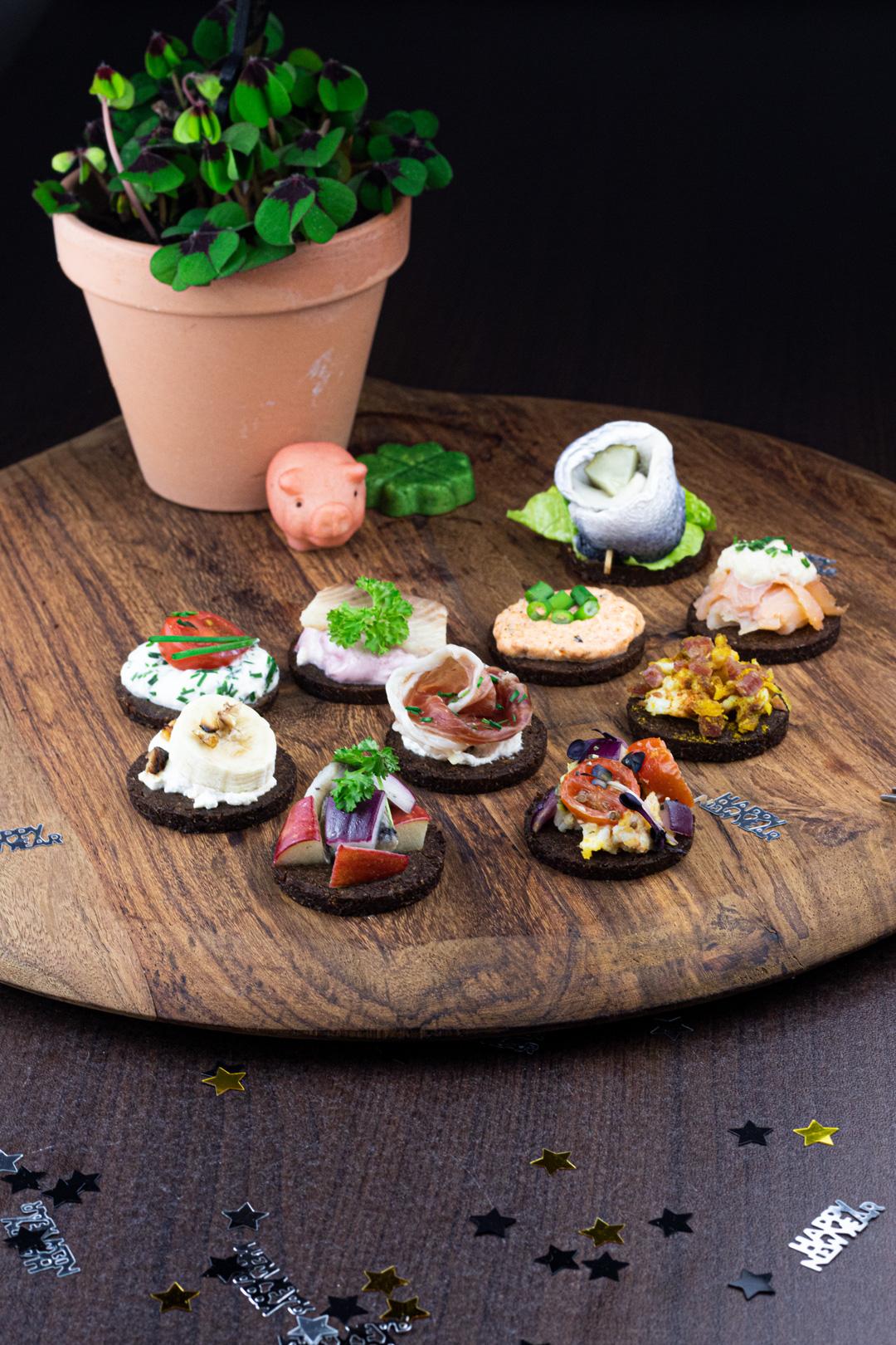 Katerfrühstück: Neue Snackrezepte mit GOURMET Pumpernickel von Mestemacher
