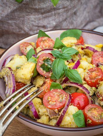 Kartoffelsalat-mit-Pesto
