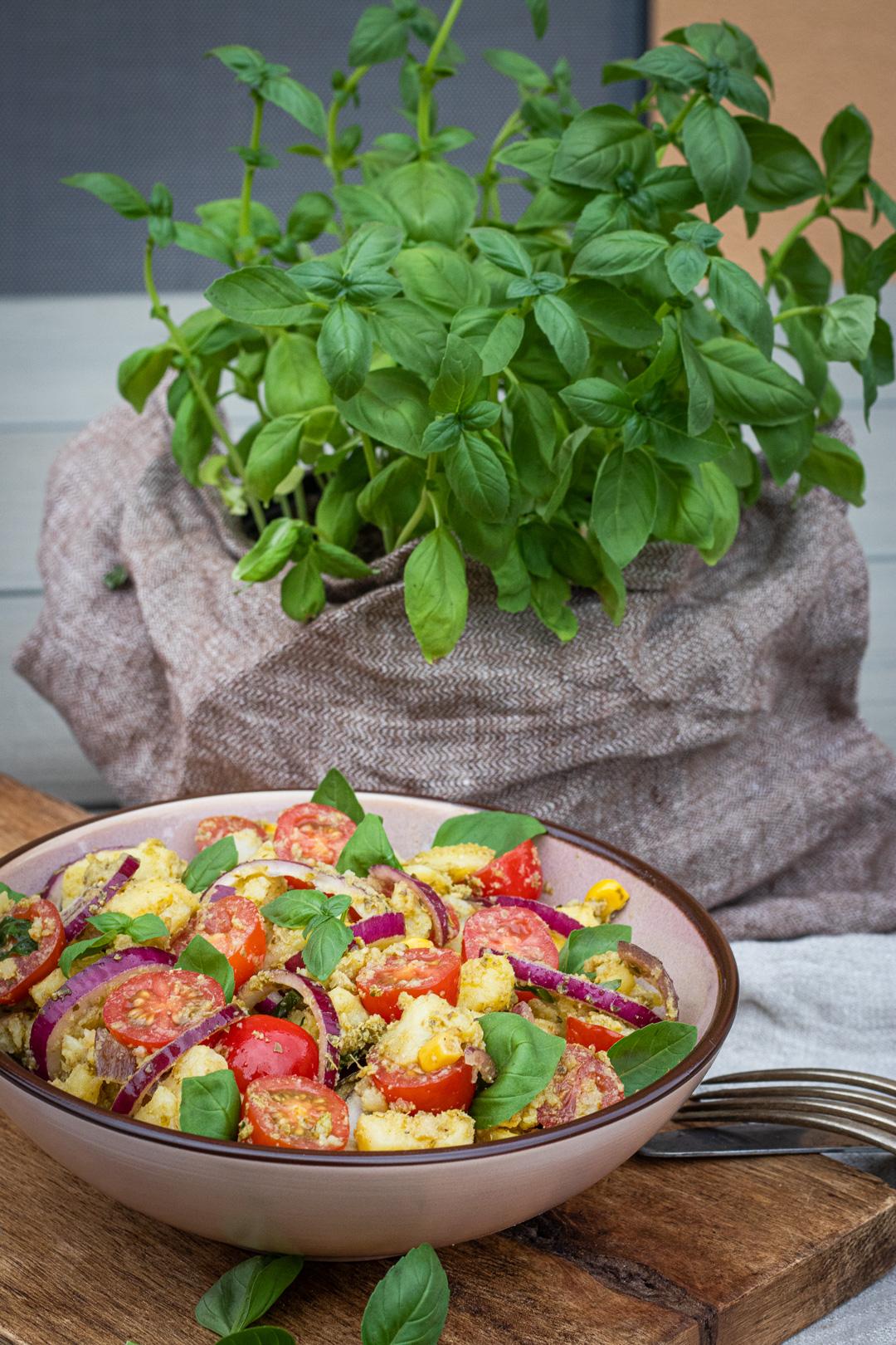 neuer Salat zum Grillen