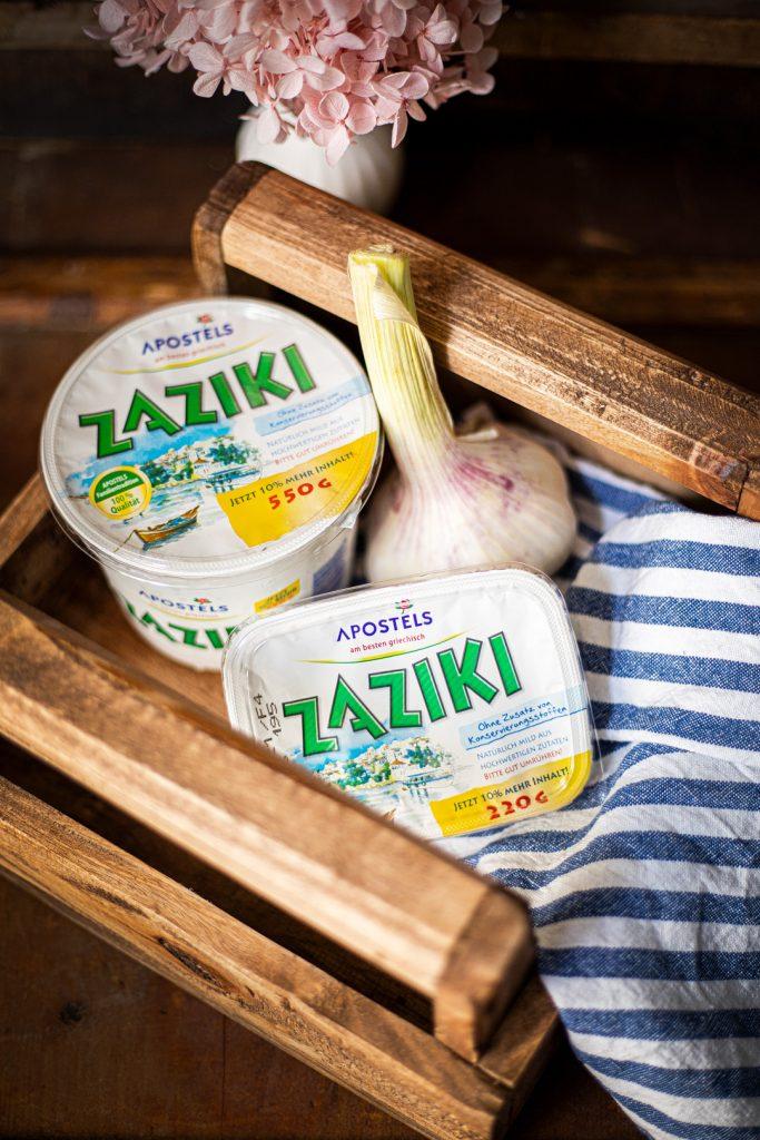Apostels Zaziki Rezept