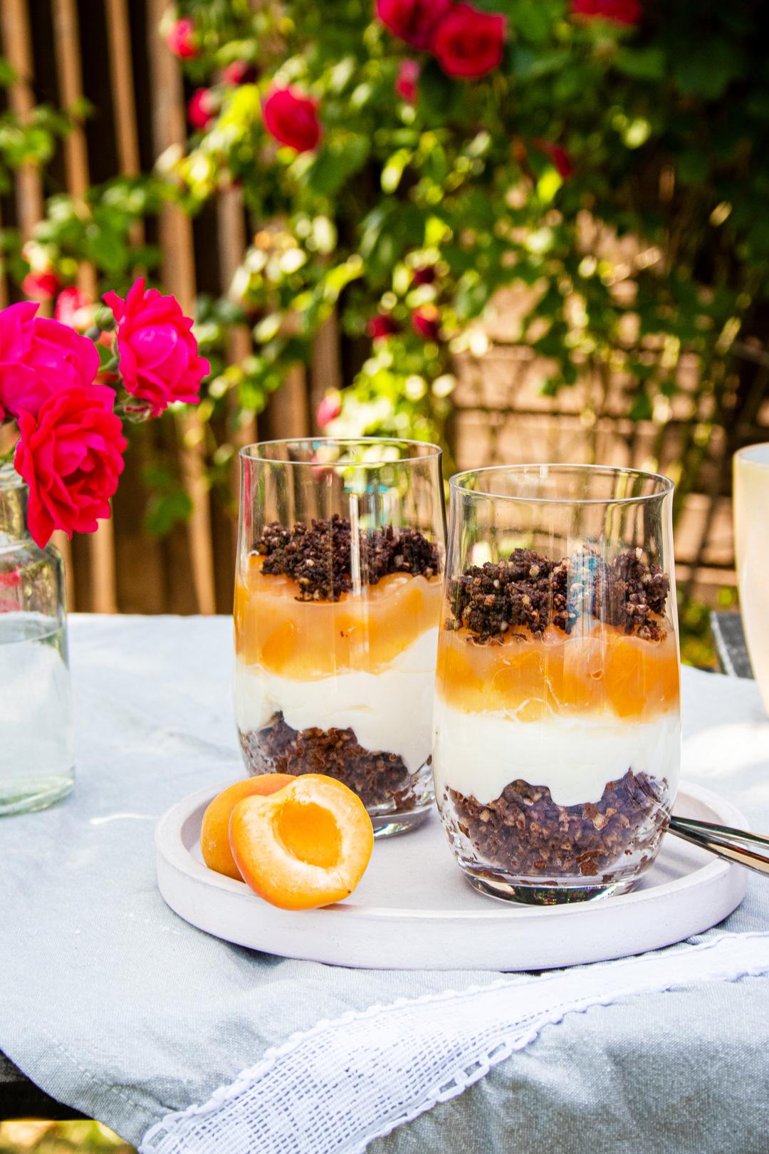 Pumpernickel-Dessert